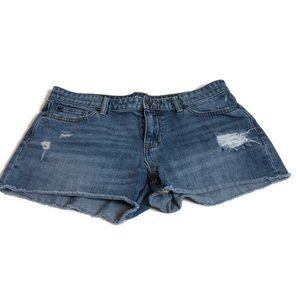 Distressed Gap Sexy Short Short Boyfriend Shorts